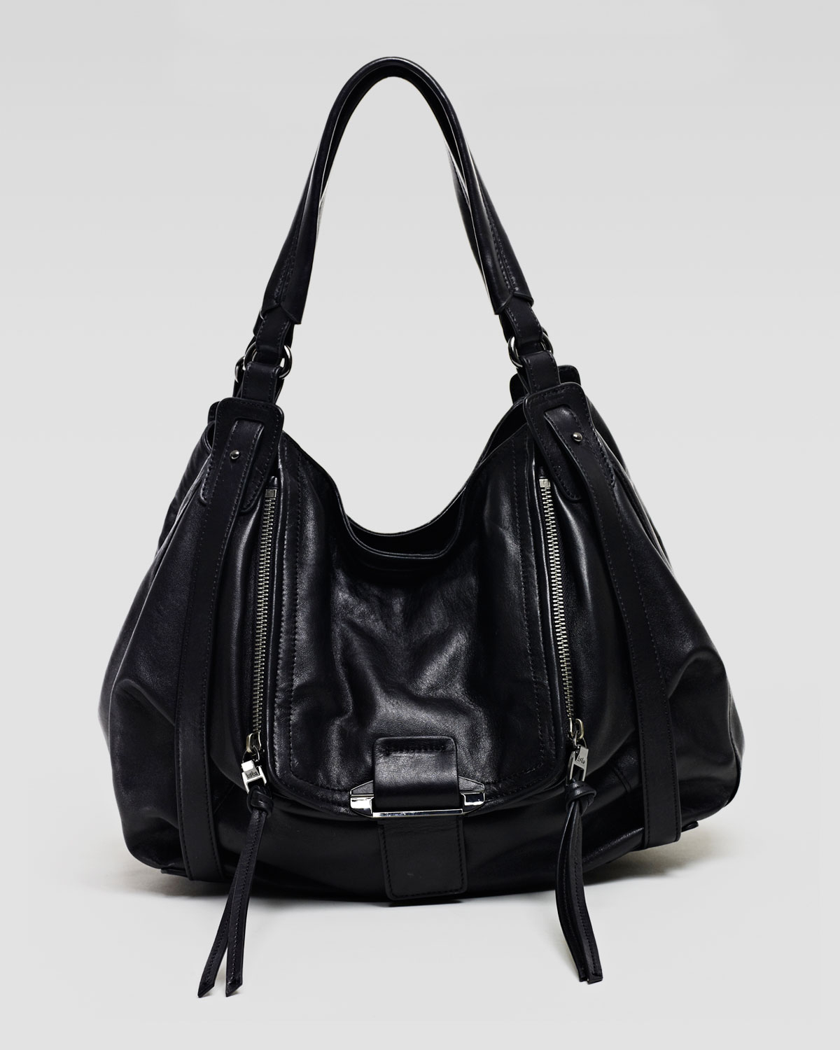 Kooba Jonnie Hobo Bag Black in Black | Lyst