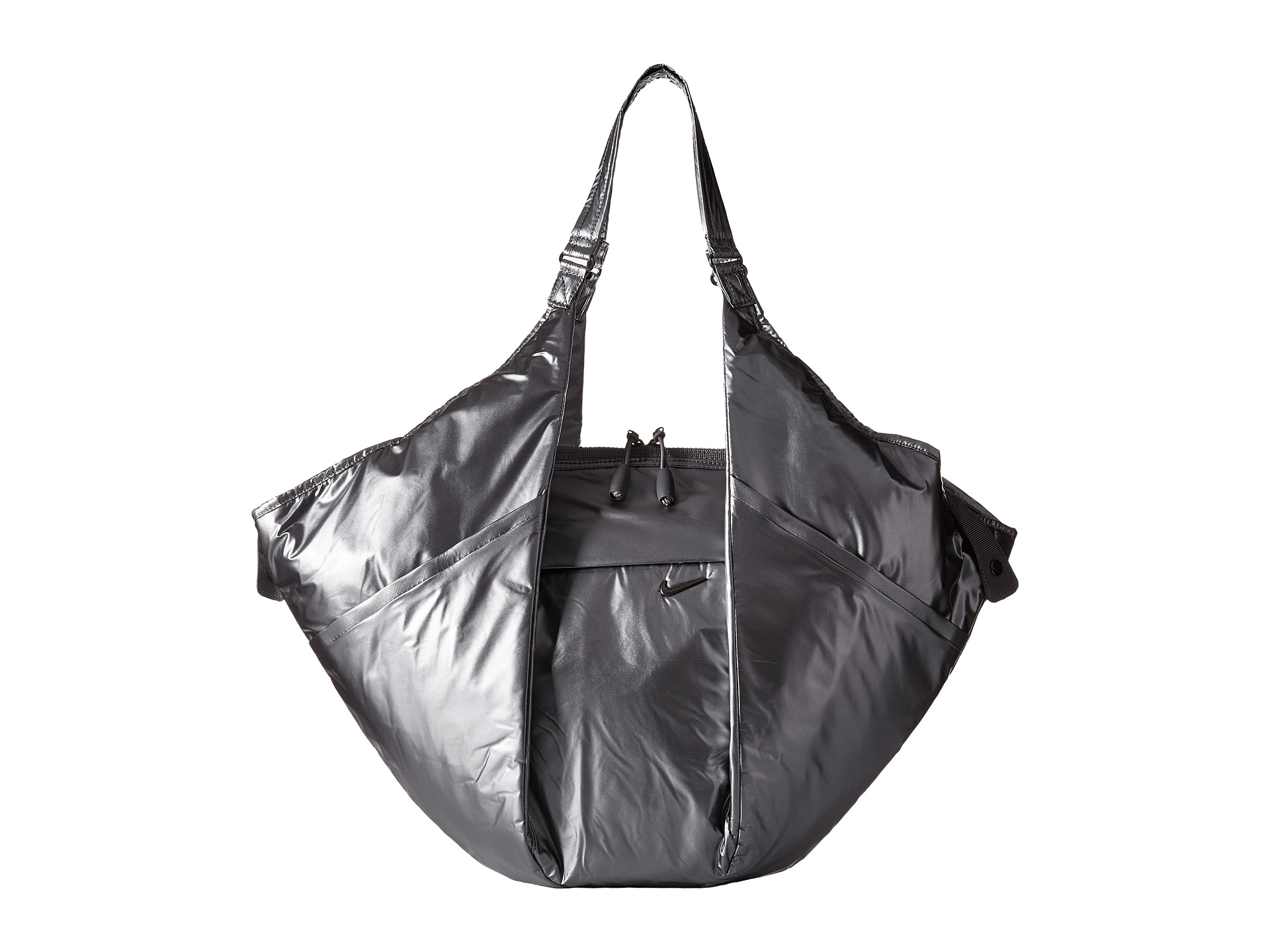 Nike Victory Gym Tote In Gray