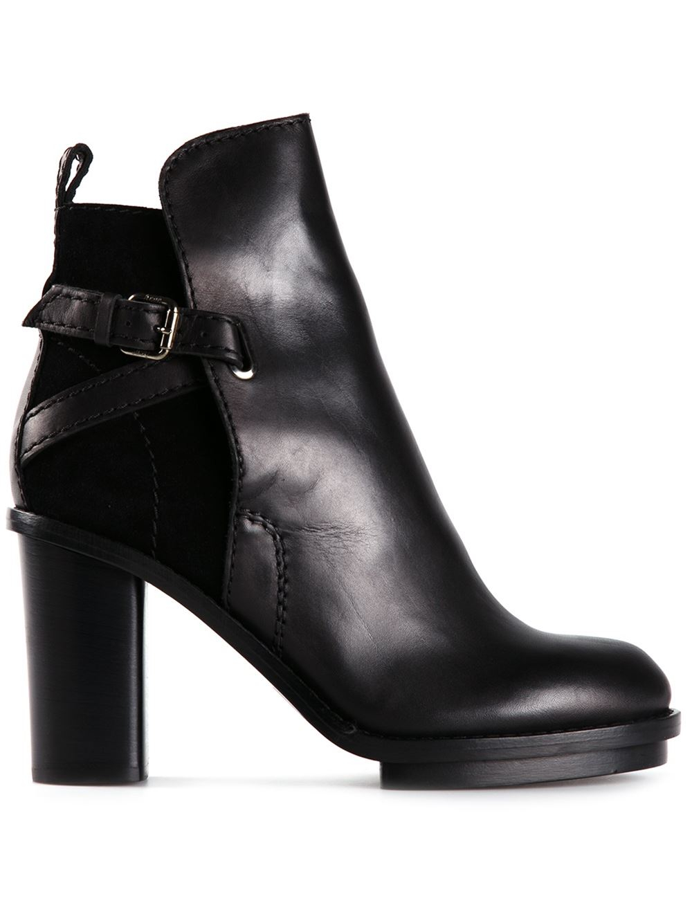 0a14bdf61d5d Lyst - Acne Studios  Cypress  Ankle Boots in Black