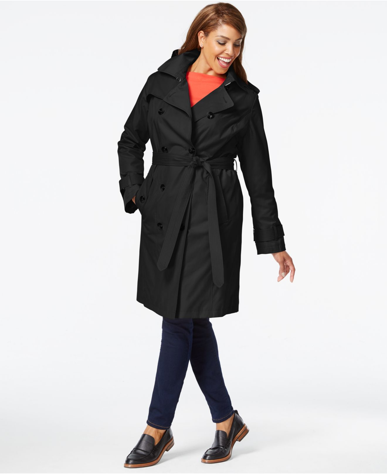 Plus Size Trench Coat - decorhstyle.com in 2020 | Plus