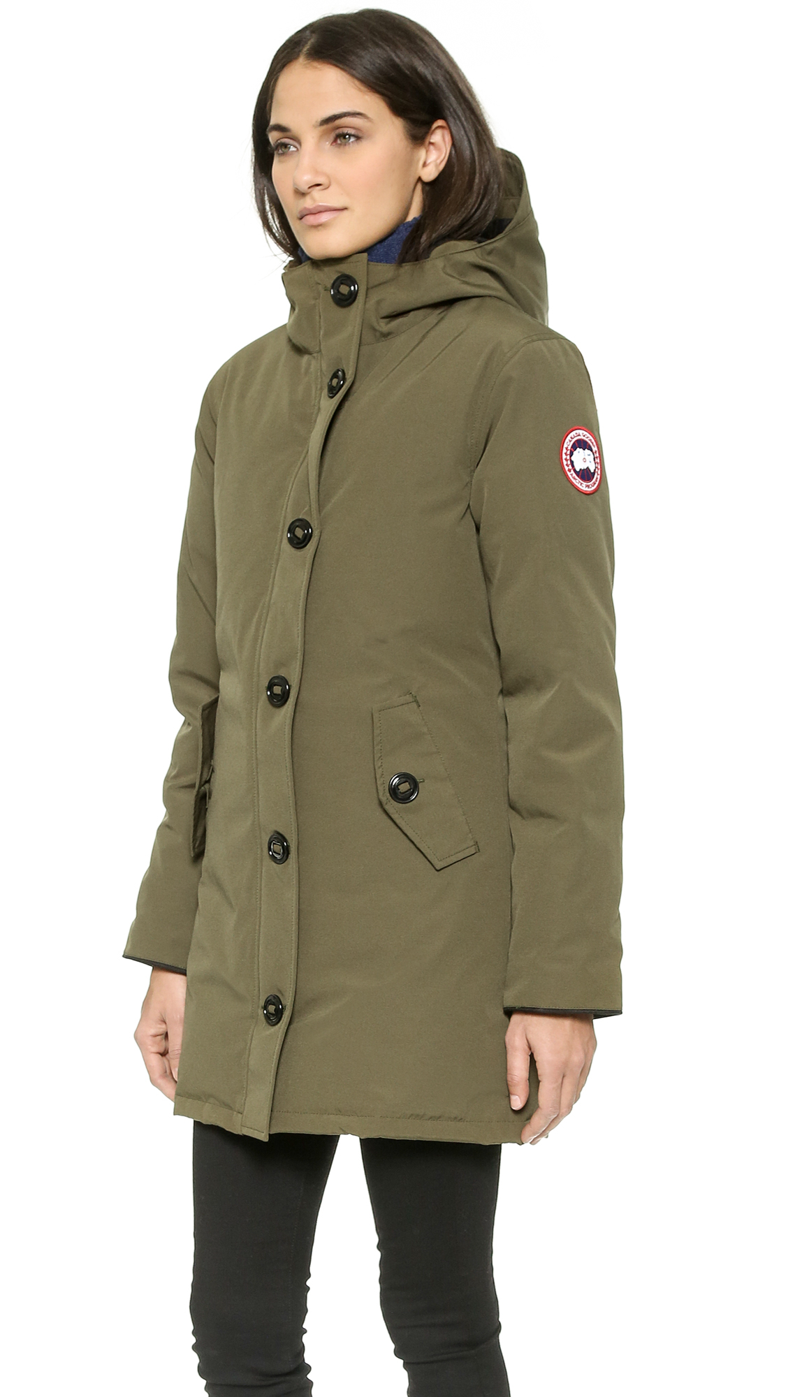 Canada Goose hats replica fake - Canada goose Camrose Parka in Green (Military Green) | Lyst
