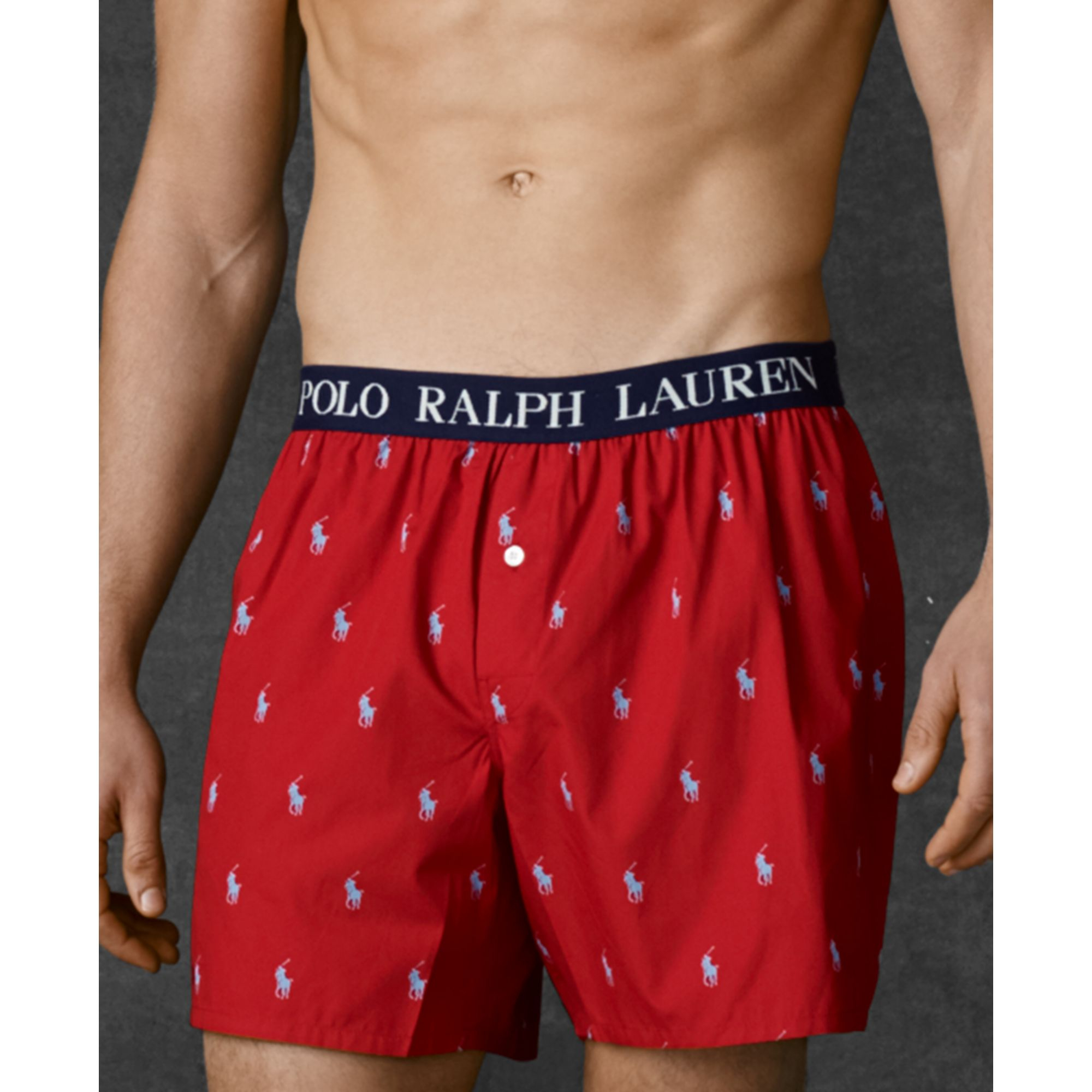 lyst ralph lauren polo mens polo player boxer shorts in. Black Bedroom Furniture Sets. Home Design Ideas