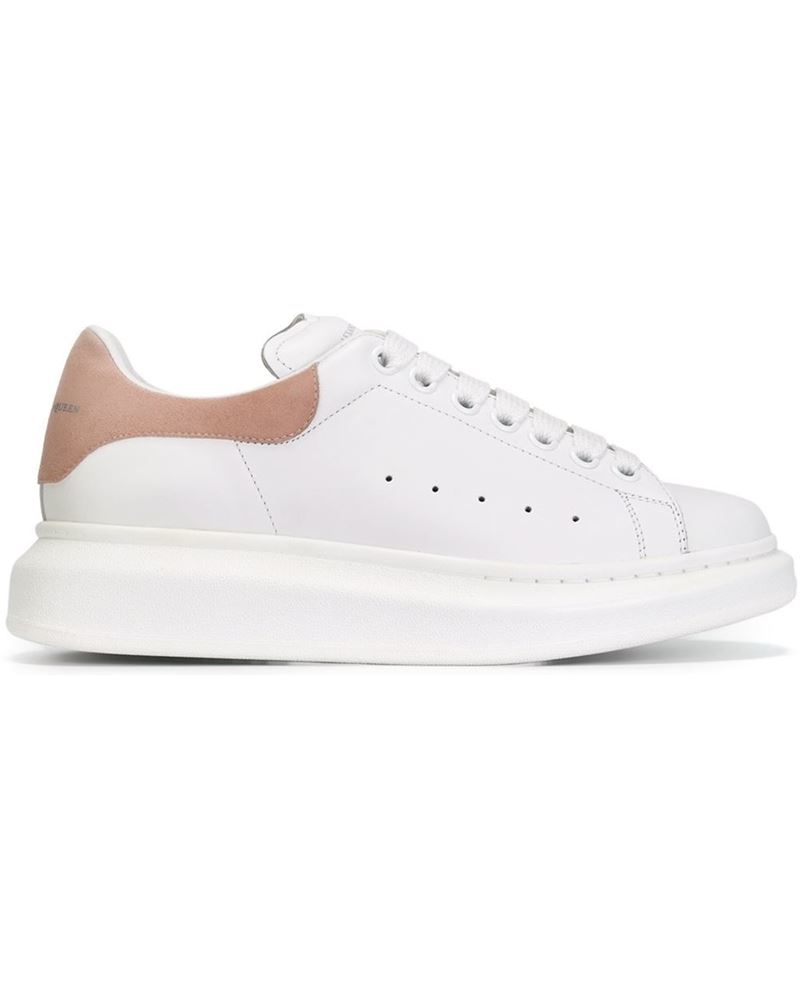 824173a7bb0ec Lyst - Alexander McQueen Shoe White     Leather rubber in White