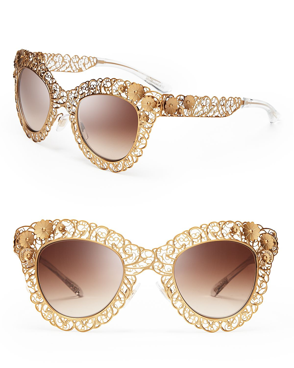 3c331f9b4876 Gallery. Previously sold at  Bloomingdale s · Women s Rose Gold Sunglasses  ...