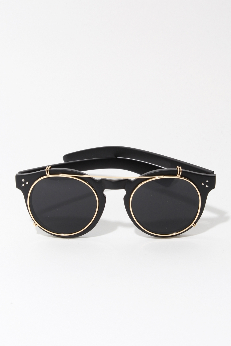 how to put lens back in sunglasses