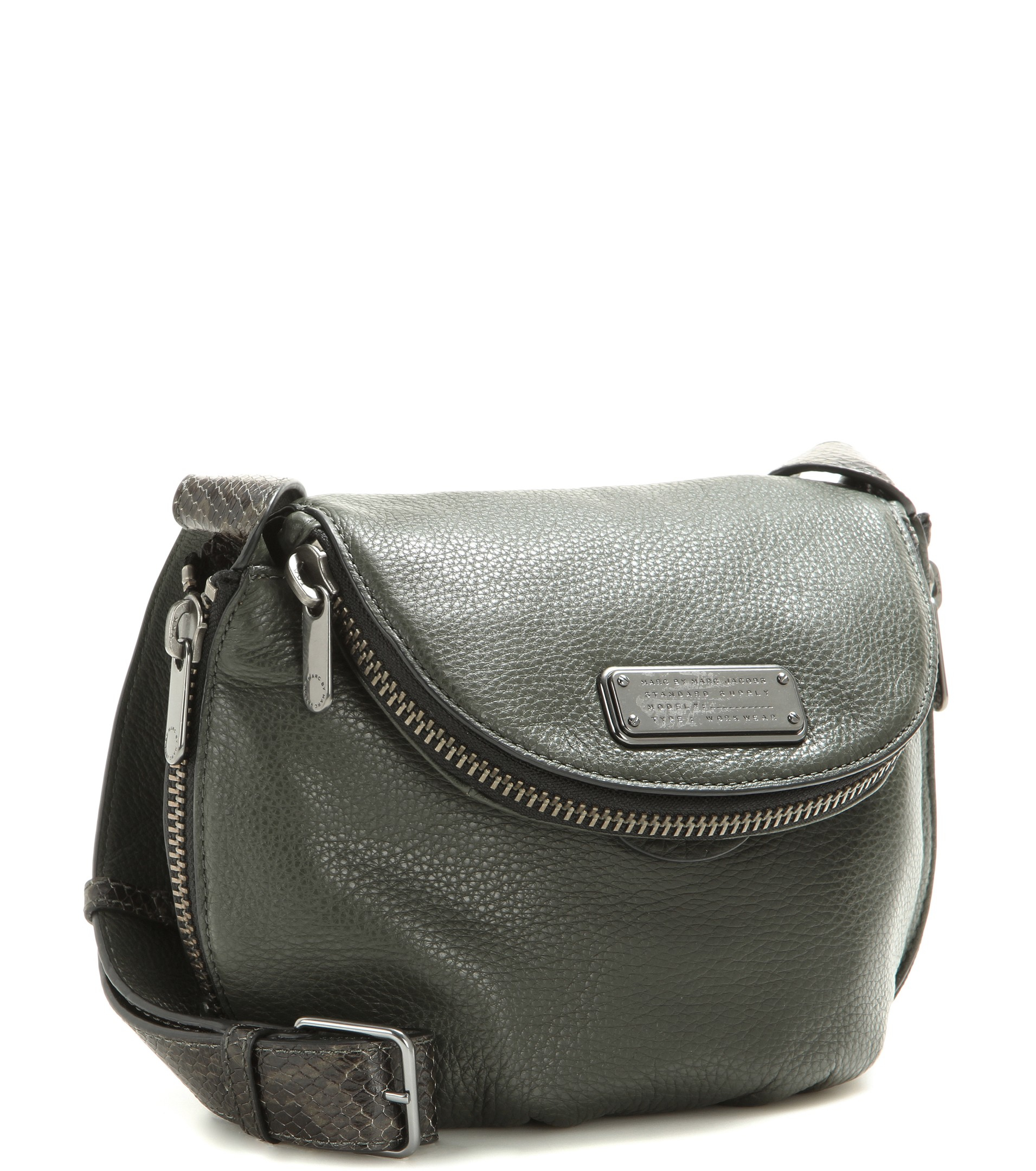 ... Marc By Marc Jacobs Mini Natasha Leather Shoulder Bag in Gre brand new  0068c e787e ... 711a76839e320