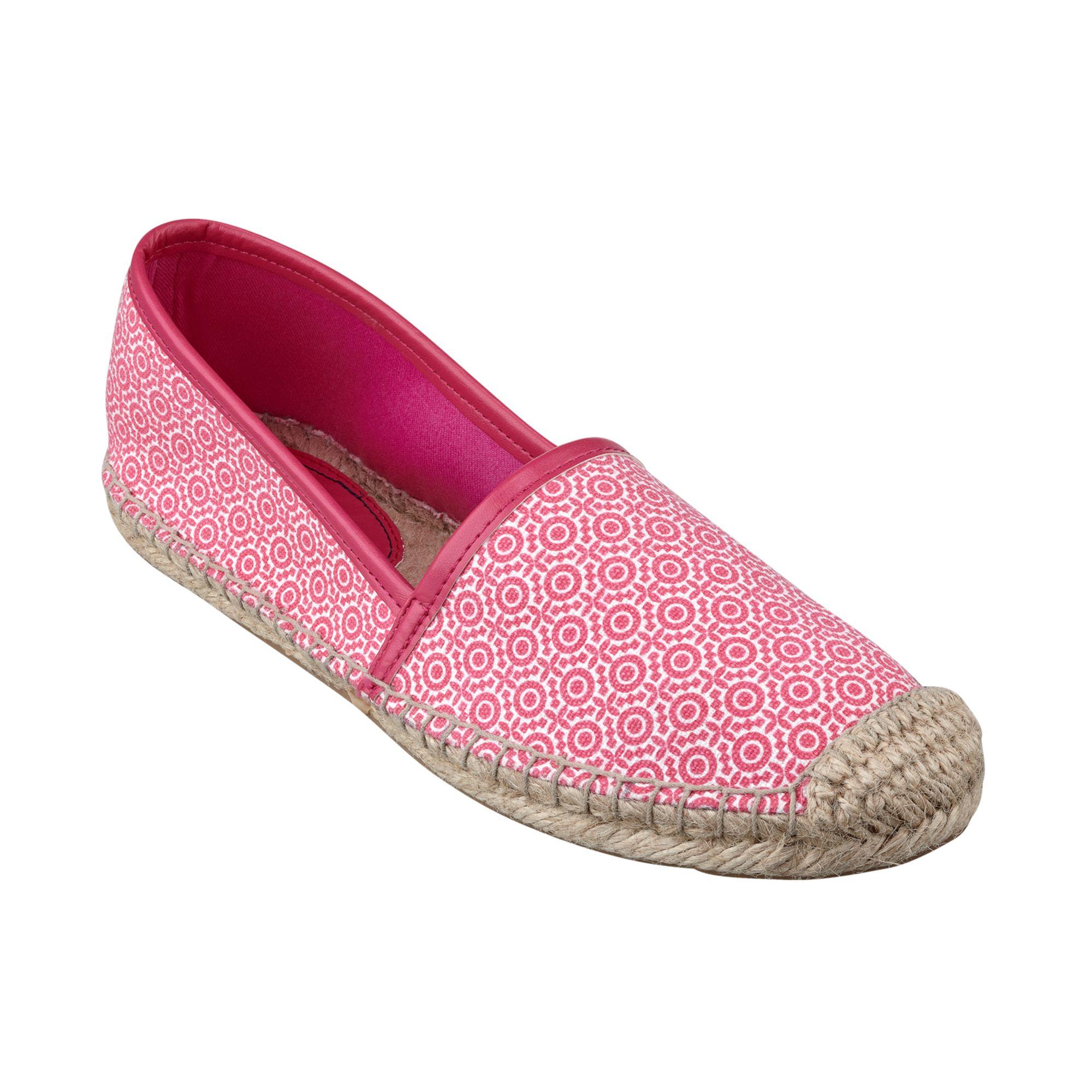 41e808fdd7d70 Lyst - Tommy Hilfiger Womens Heyda Espadrille Flats in Pink