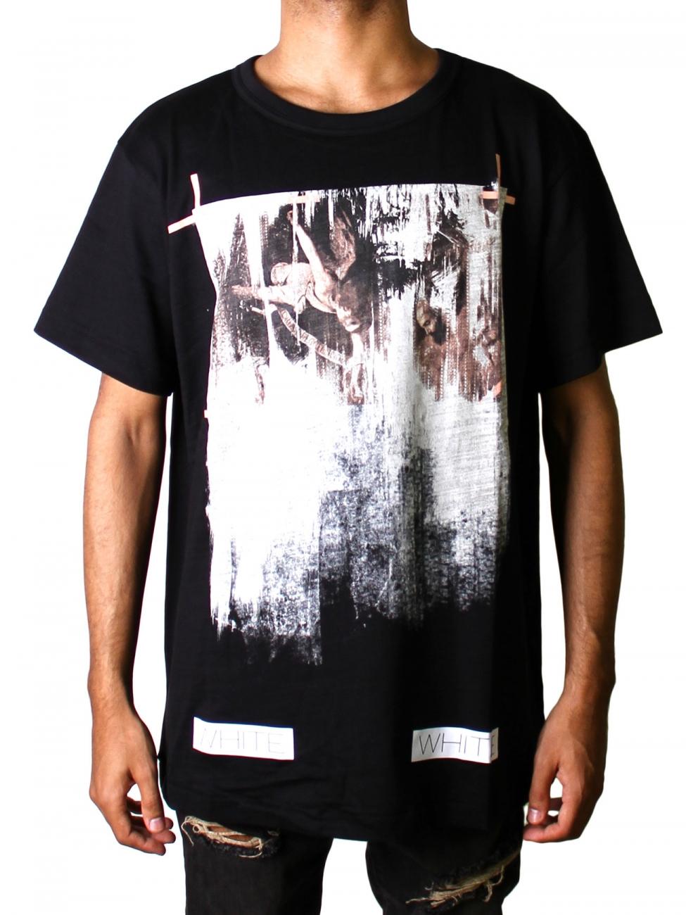 Off-white c/o virgil abloh Caravaggio Black T-shirt in Black for ...