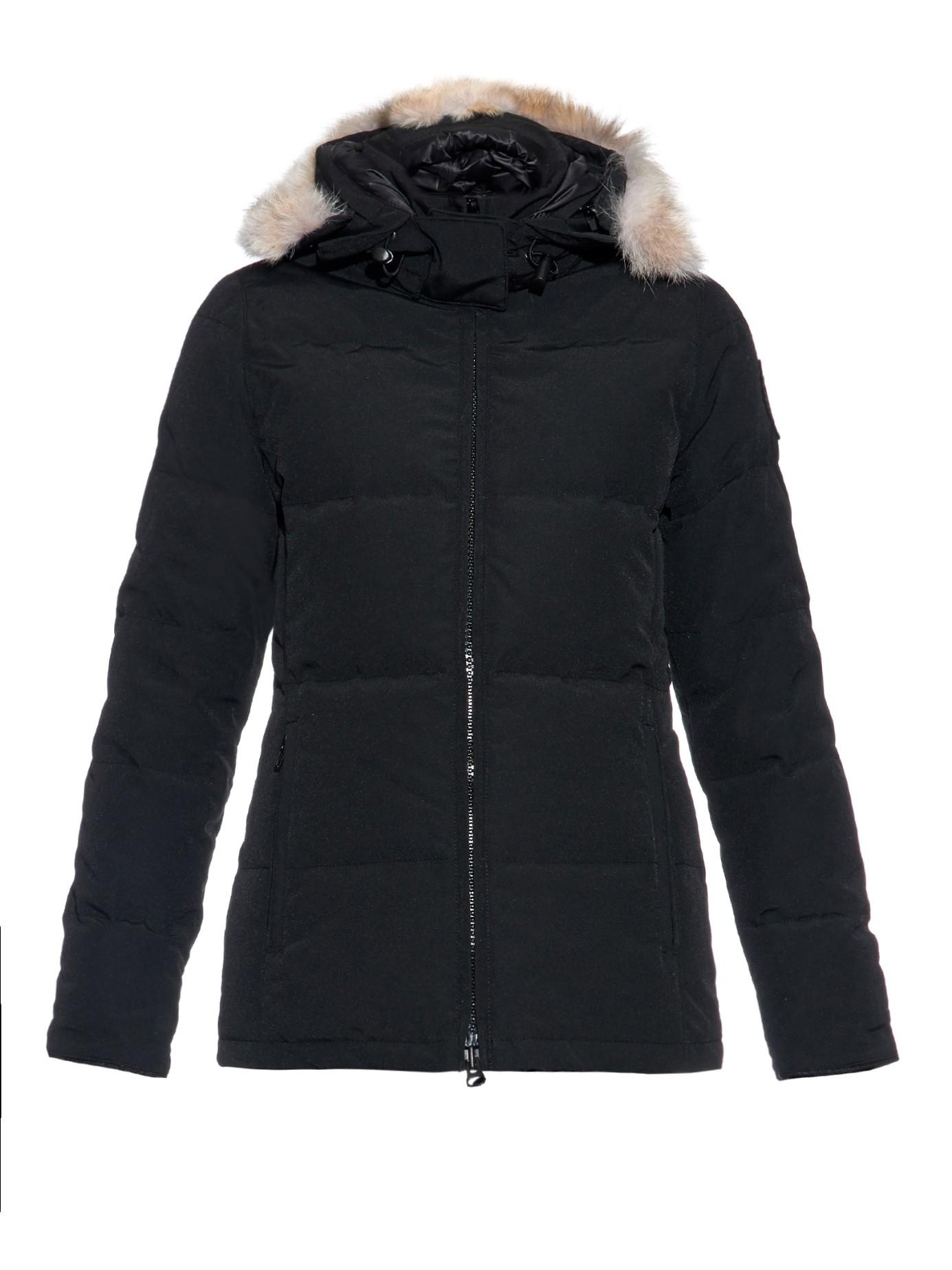 canada goose coat fur