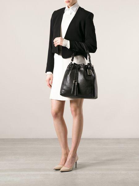 Madison Pinnacle Drawstring Shoulder Bag 14