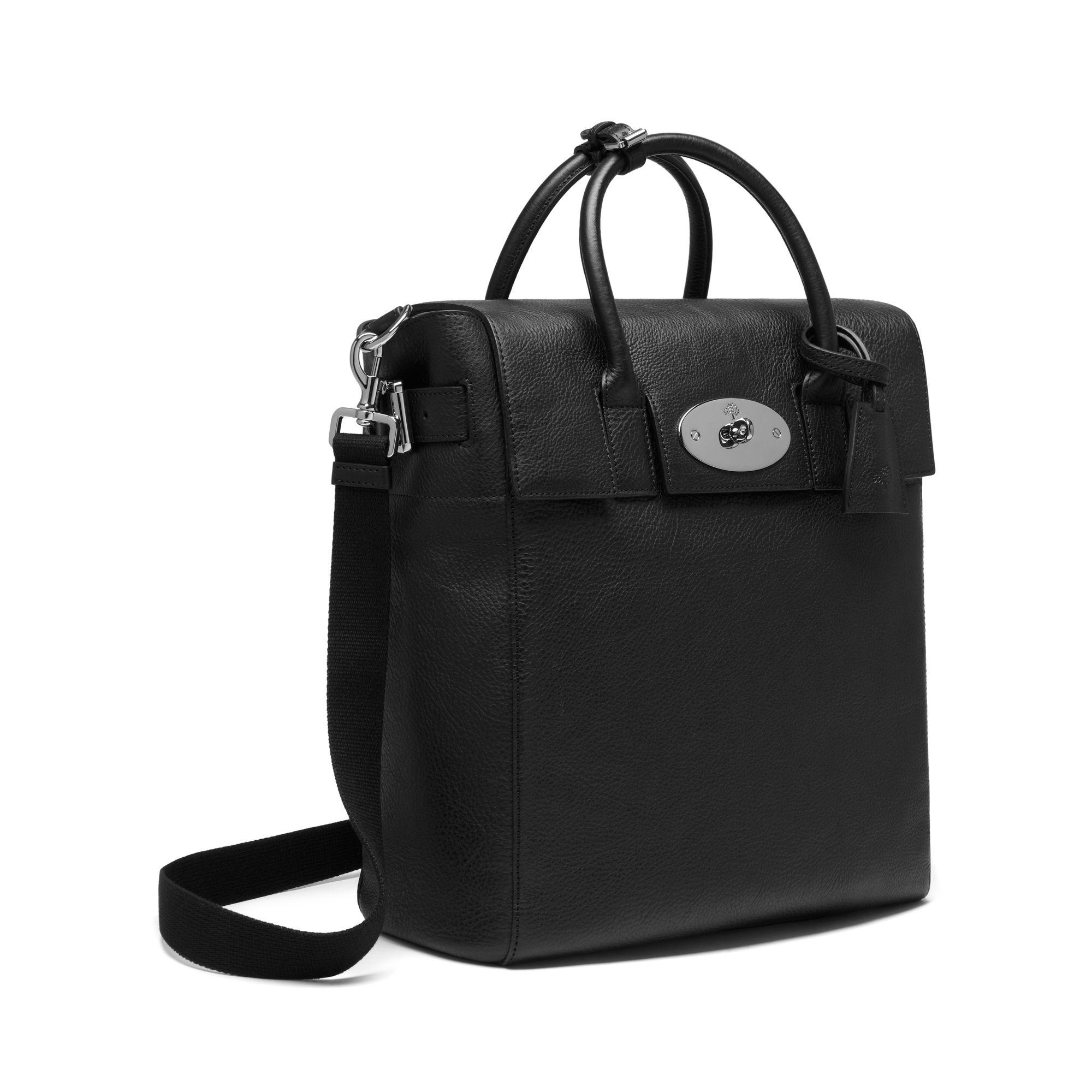 a180db24af Lyst - Mulberry Large Cara Delevingne Bag in Black