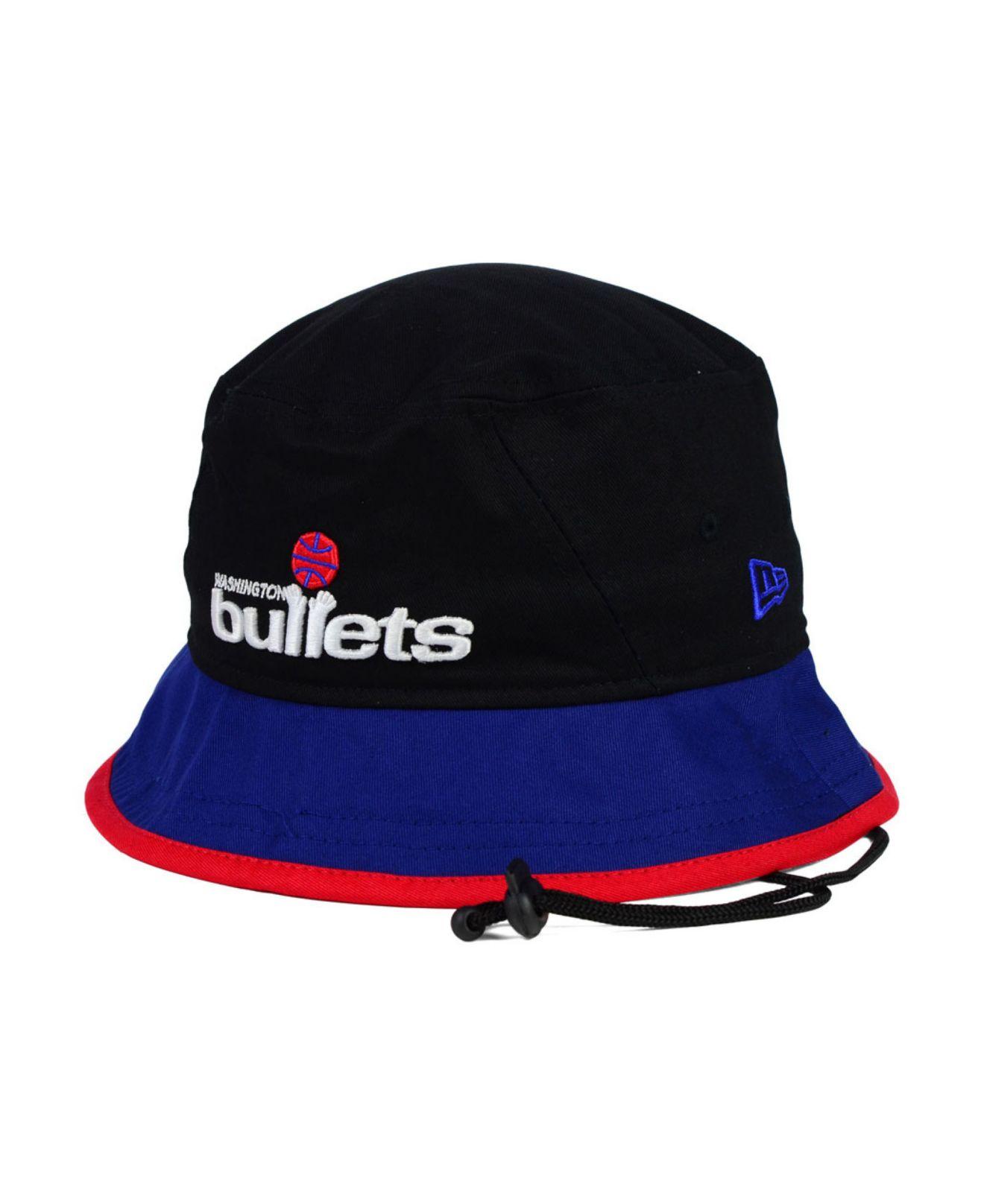 Lyst - KTZ Washington Bullets Black-Top Bucket Hat in Black for Men 54f03b108cdb