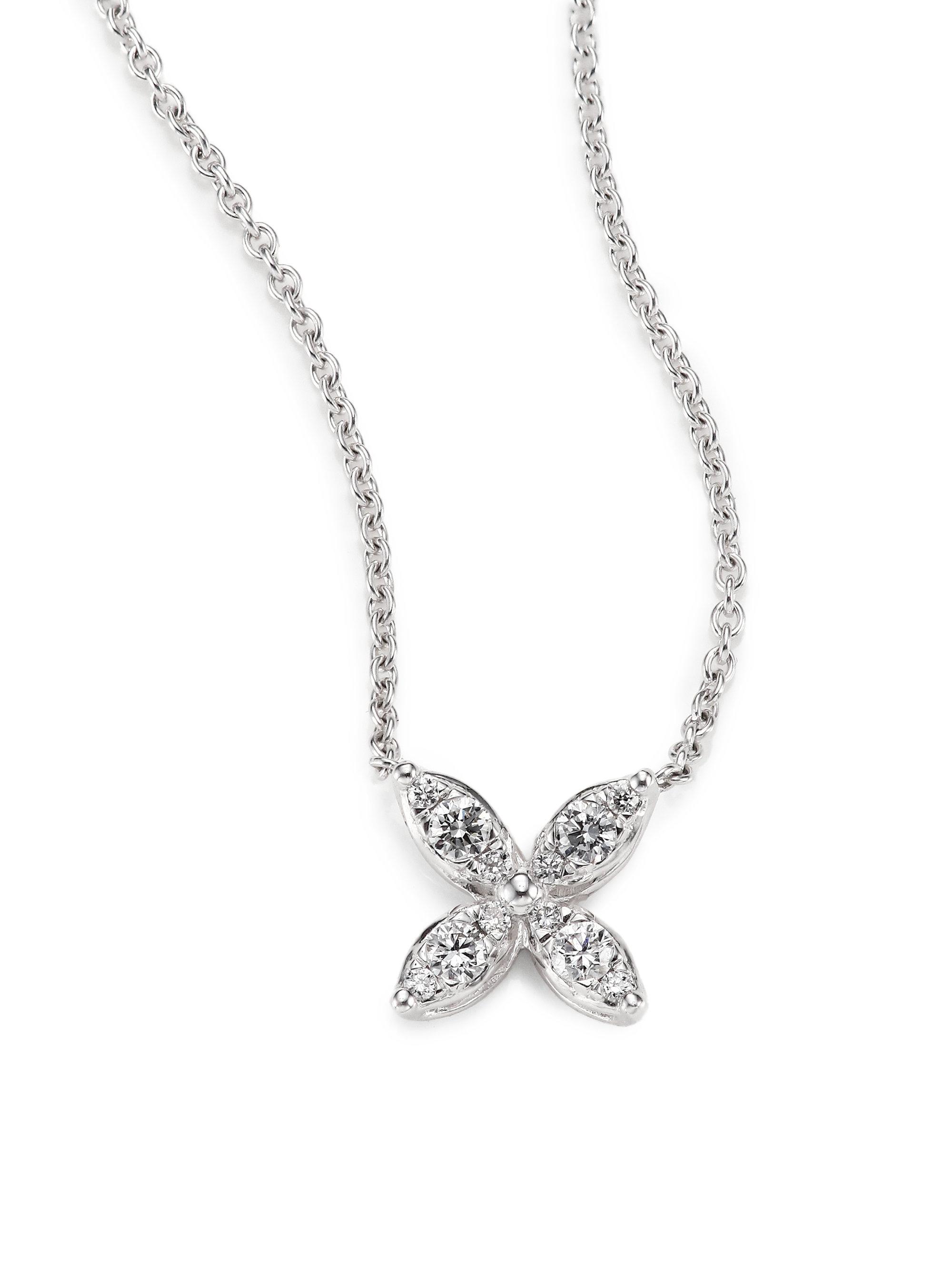 kwiat sunburst diamond 18k white gold small flower. Black Bedroom Furniture Sets. Home Design Ideas