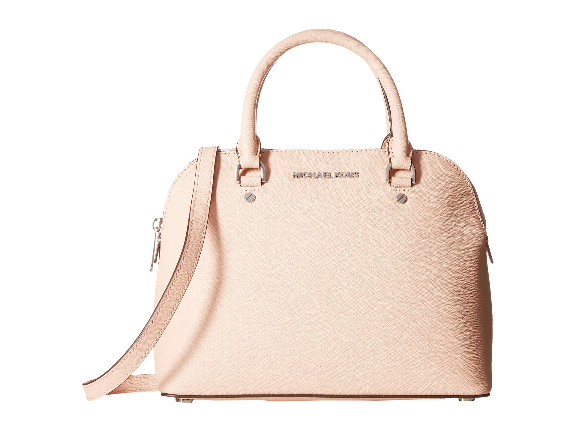 e5df51ef3e ... norway lyst michael michael kors cindy medium dome satchel in pink  3f112 0e504