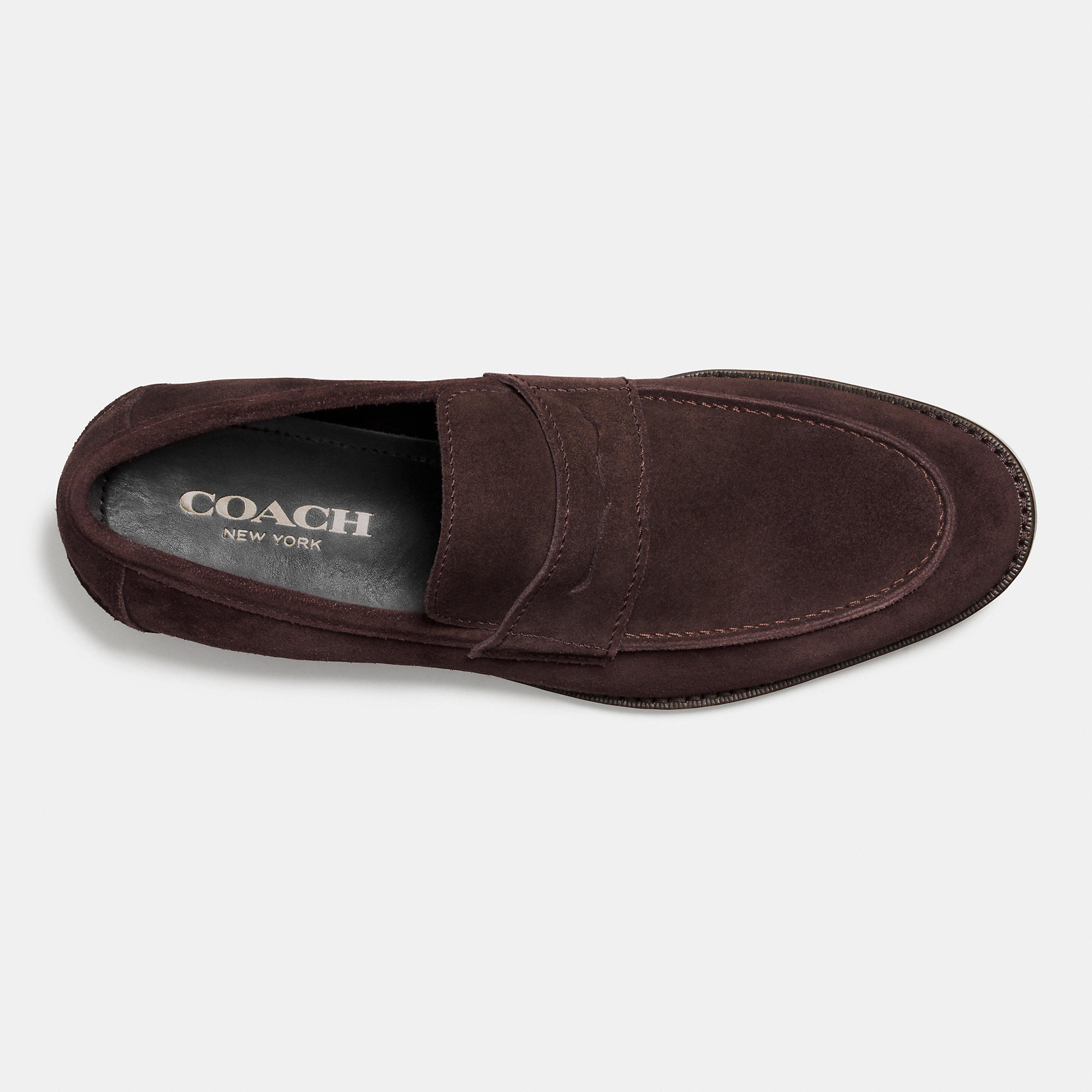 0d56650884f Lyst - COACH Allen Penny Loafer in Brown for Men