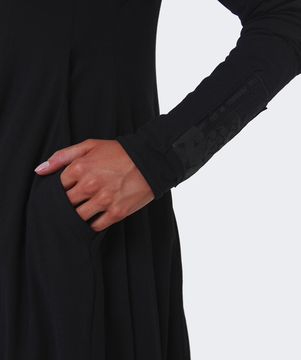 Long dress jersey finger