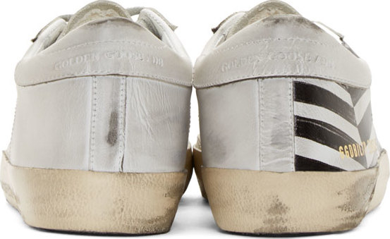 tytfk Golden goose deluxe brand Black And White Striped Superstar