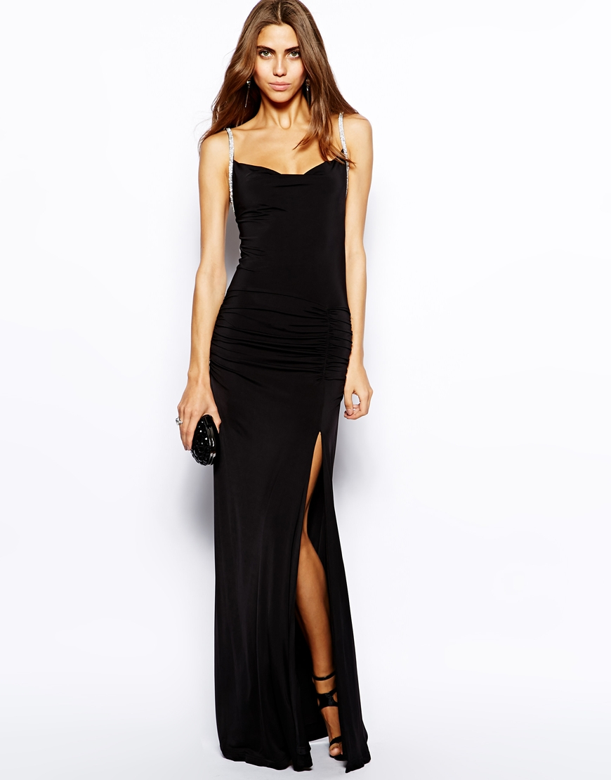 Maxi Dresses Make it a maxi dress for a maxed out style. Floor-sweeping and figure-skimming, the maxi is entrance making eveningwear at its best with hints of prints and embellished detailing ensuring you look good in long lengths.