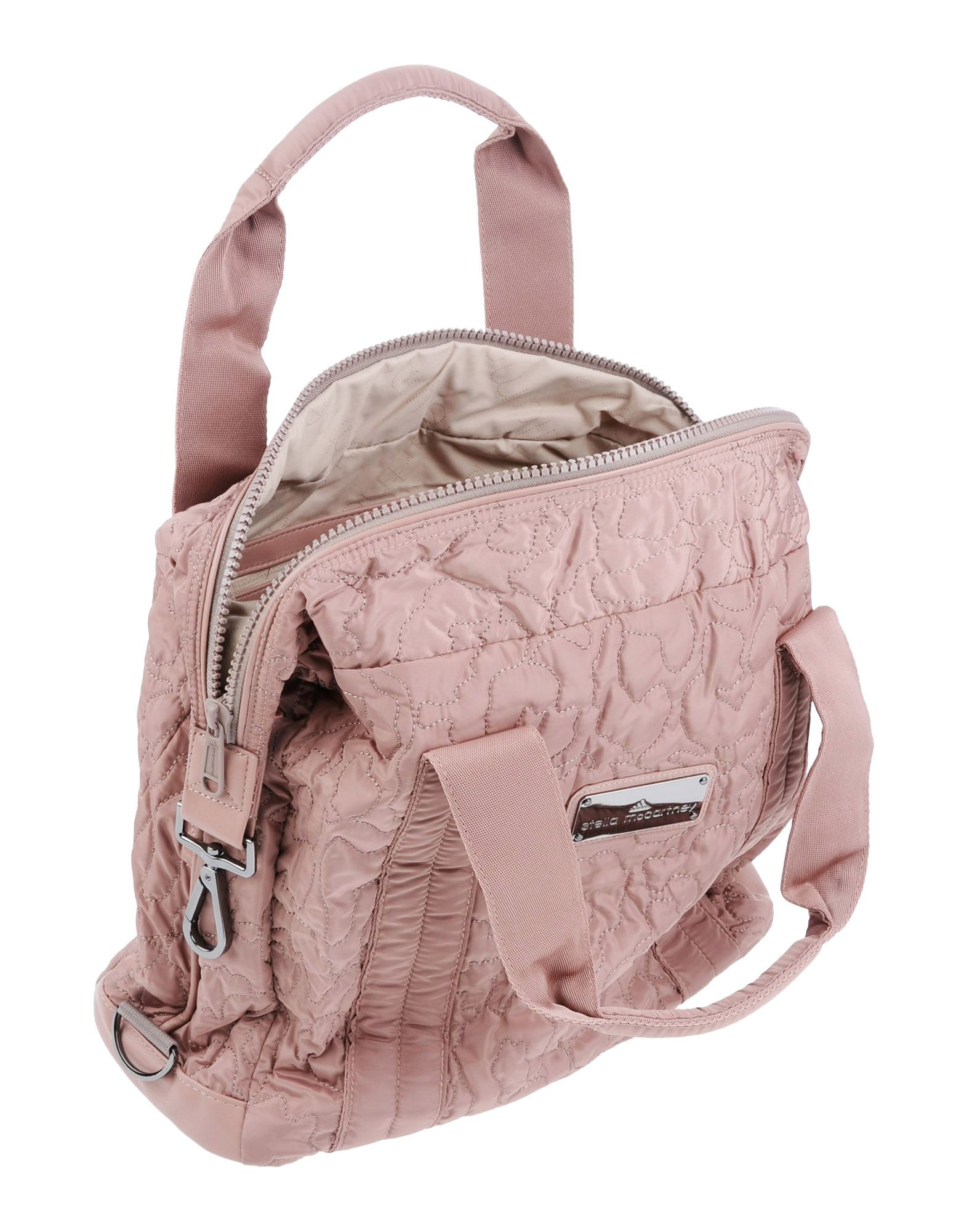 15c76a7819 adidas By Stella McCartney Medium Quilted Gym Bag in Pink - Lyst
