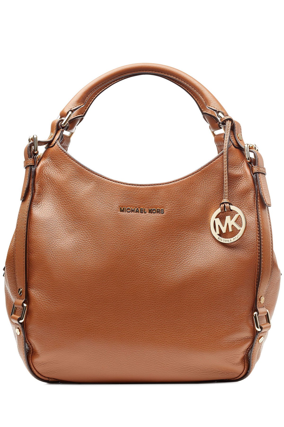 a6d22d23ff48 shopping lyst michael michael kors leather bedford hobo bag in brown 97746  3ebdb