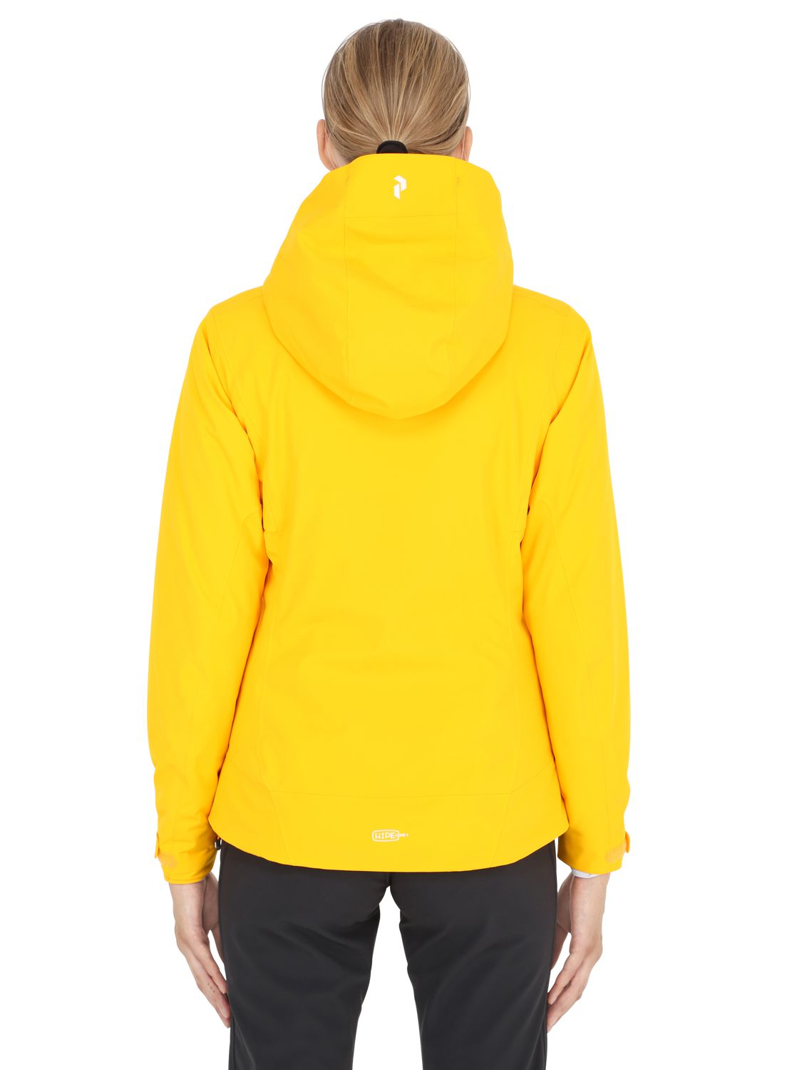 Peak Performance Anima Insulated Ski Jacket In Yellow Lyst