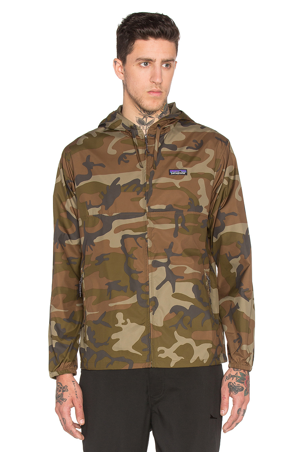 Lyst Patagonia Light Amp Variable Hoody In Green For Men