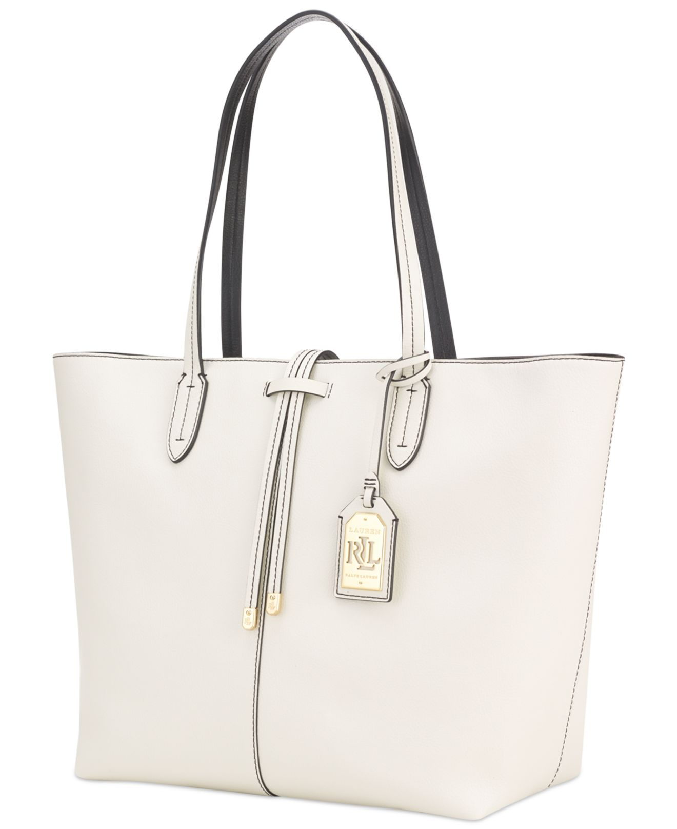 Ralph Lauren Tote Laukku : Lauren by ralph crawley unlined tote in white