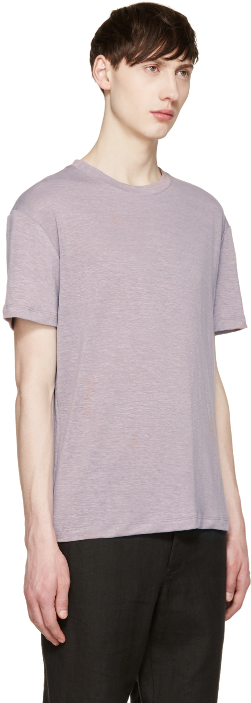 Fanmail purple hemp t shirt in purple for men lyst for Mens hemp t shirts