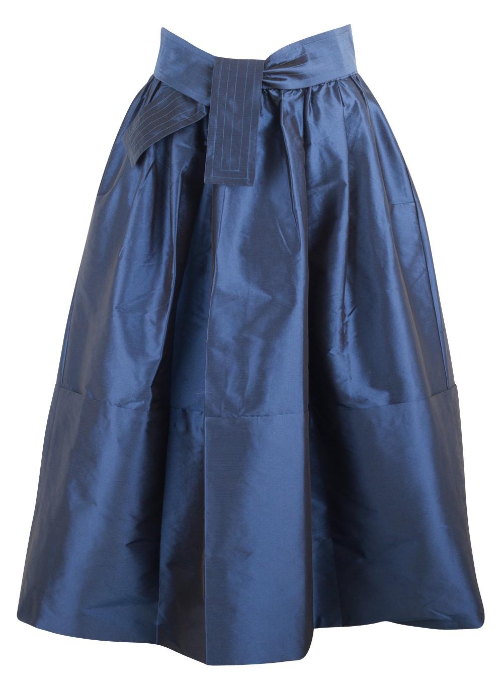 tome navy dirndl skirt in blue navy lyst