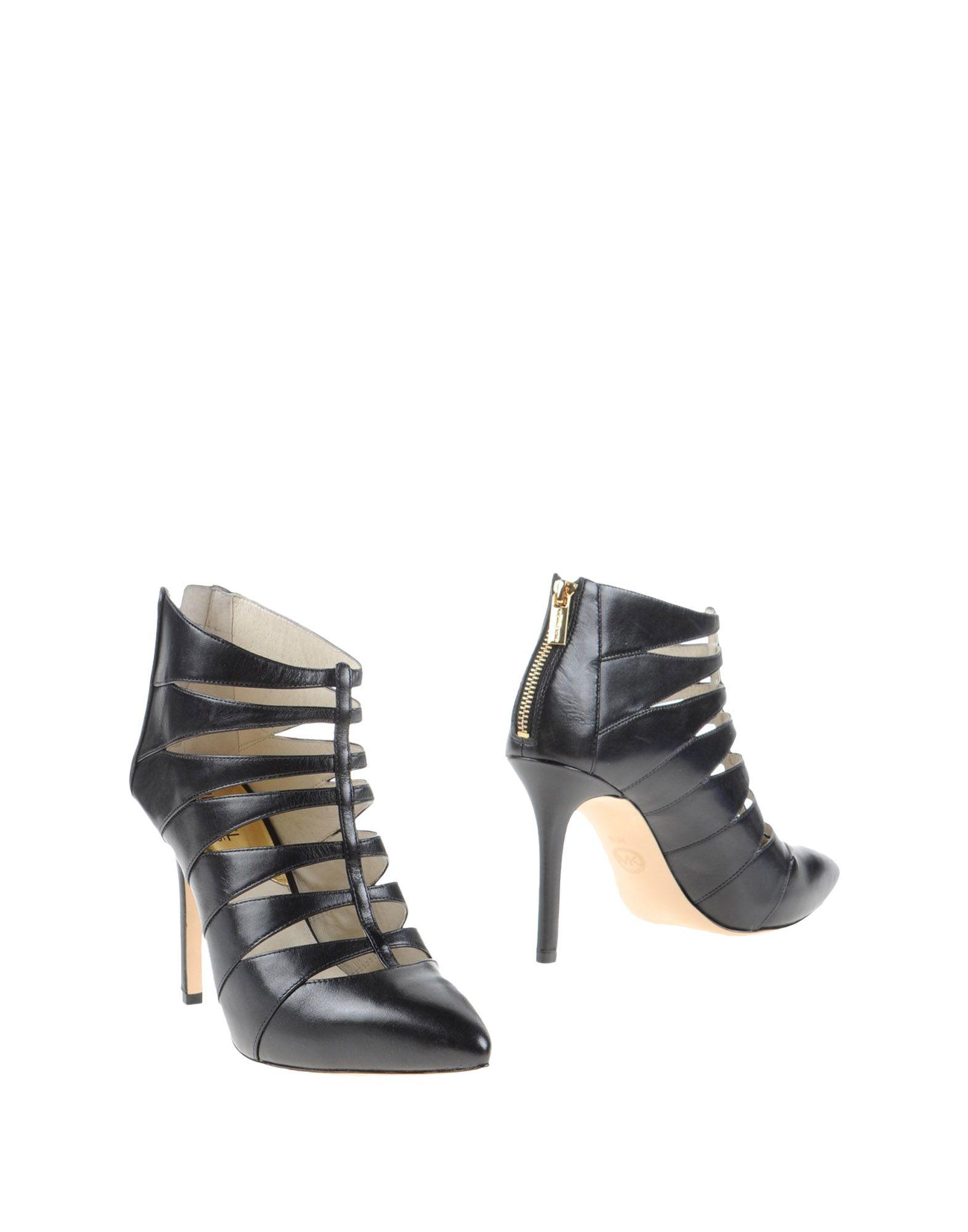 michael michael kors ankle boots in black lyst. Black Bedroom Furniture Sets. Home Design Ideas