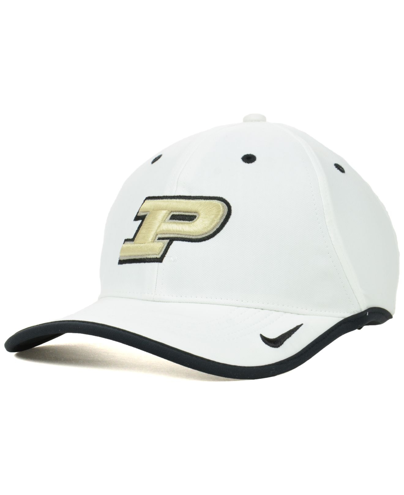 timeless design 62feb 3fb82 Nike Purdue Boilermakers Ncaa Coaches Cap in White for Men - Lyst