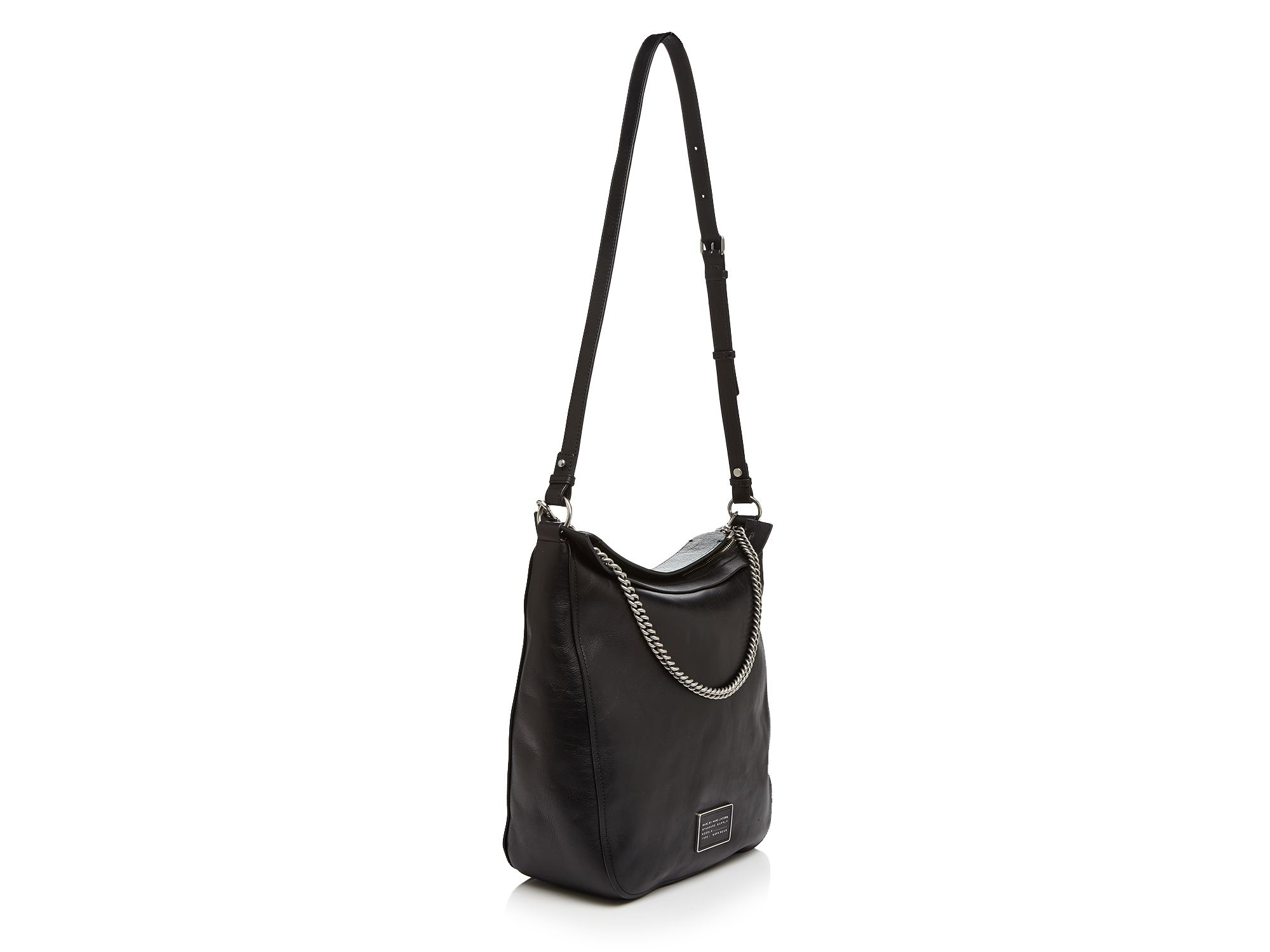 Lyst - Marc By Marc Jacobs Top Of The Chain Hobo in Black 4f7755a78a34d