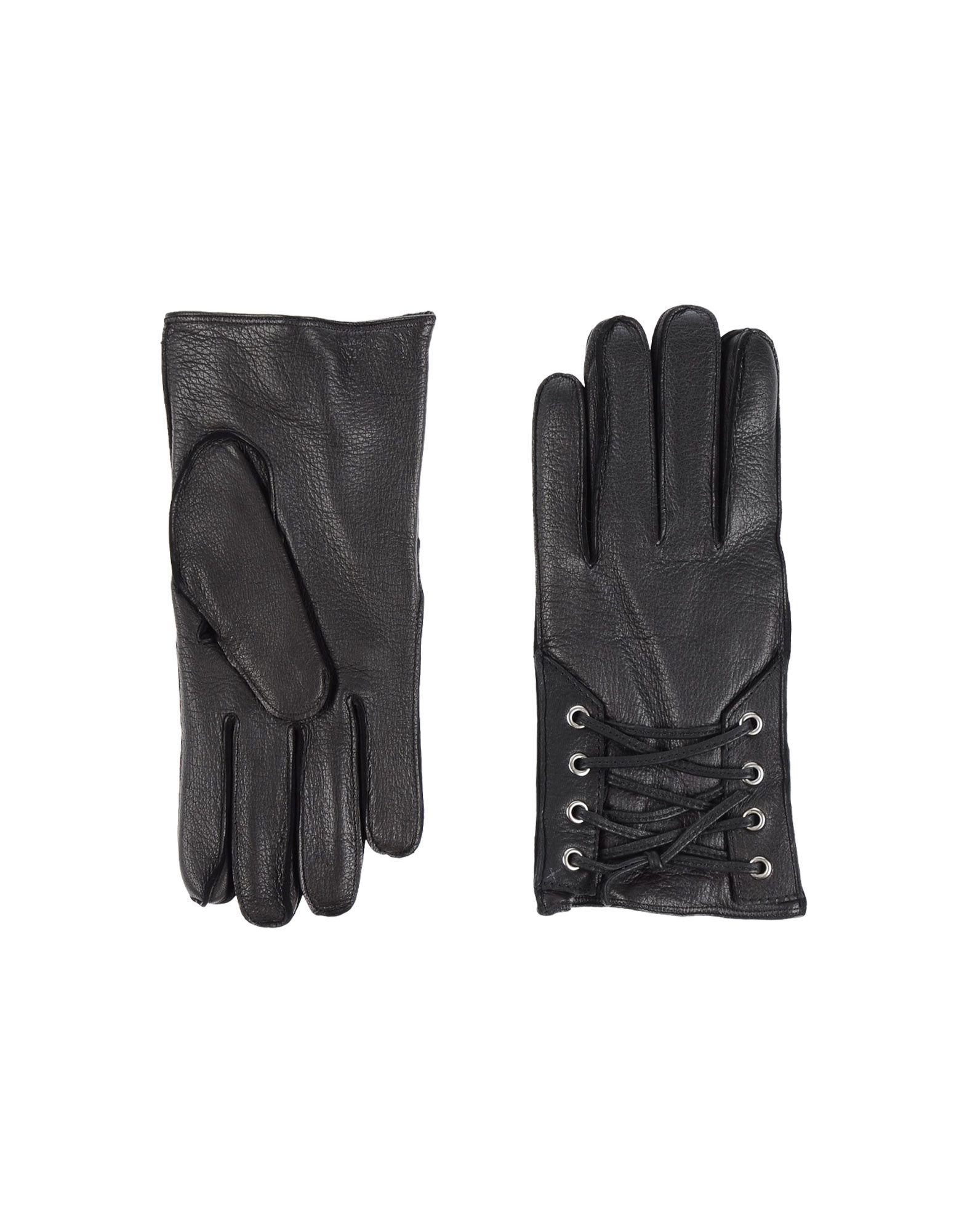 John varvatos leather driving gloves -  John Varvatos Gloves In Black For Men Lyst
