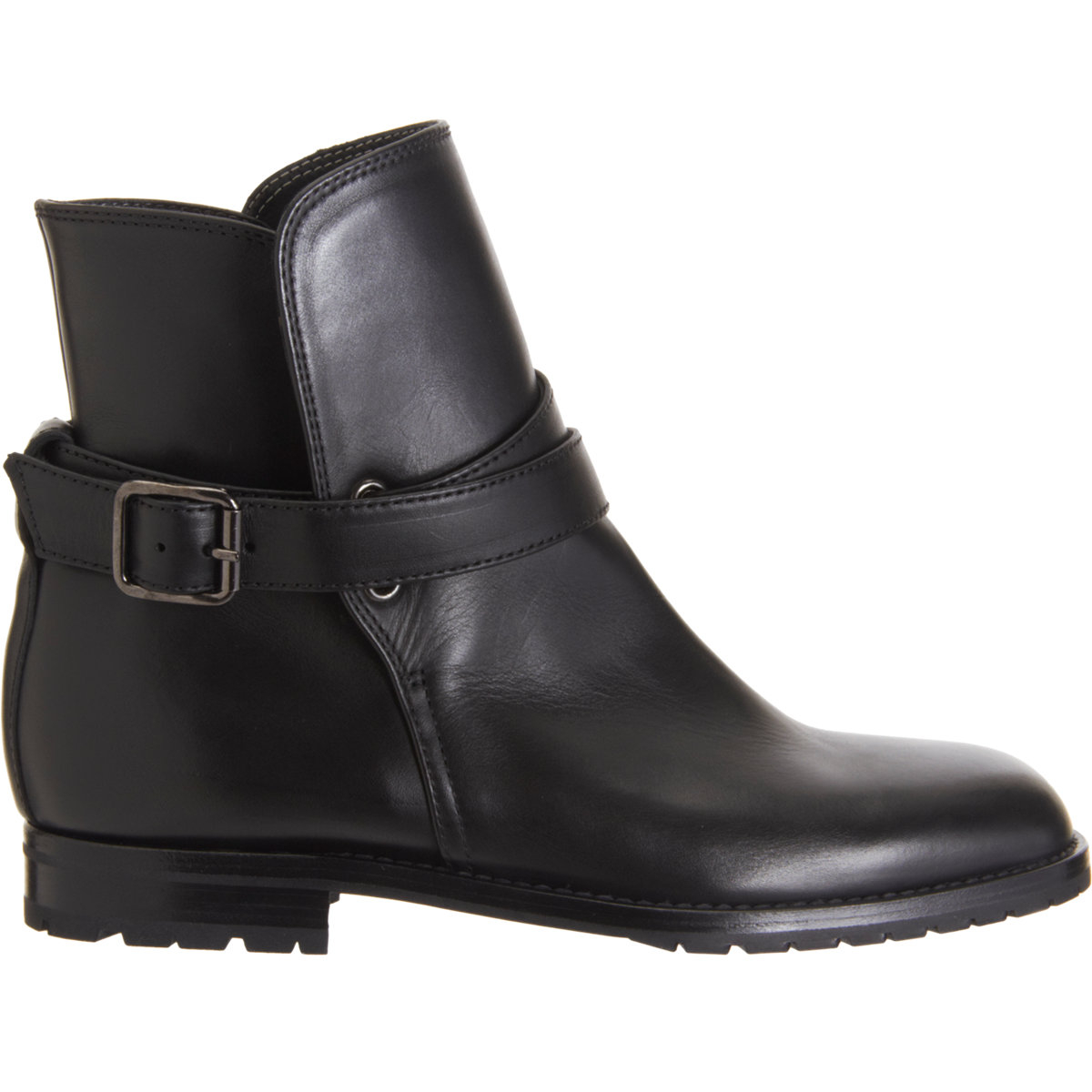 Manolo blahnik Sulgamaba Ankle Boots in Black   Lyst