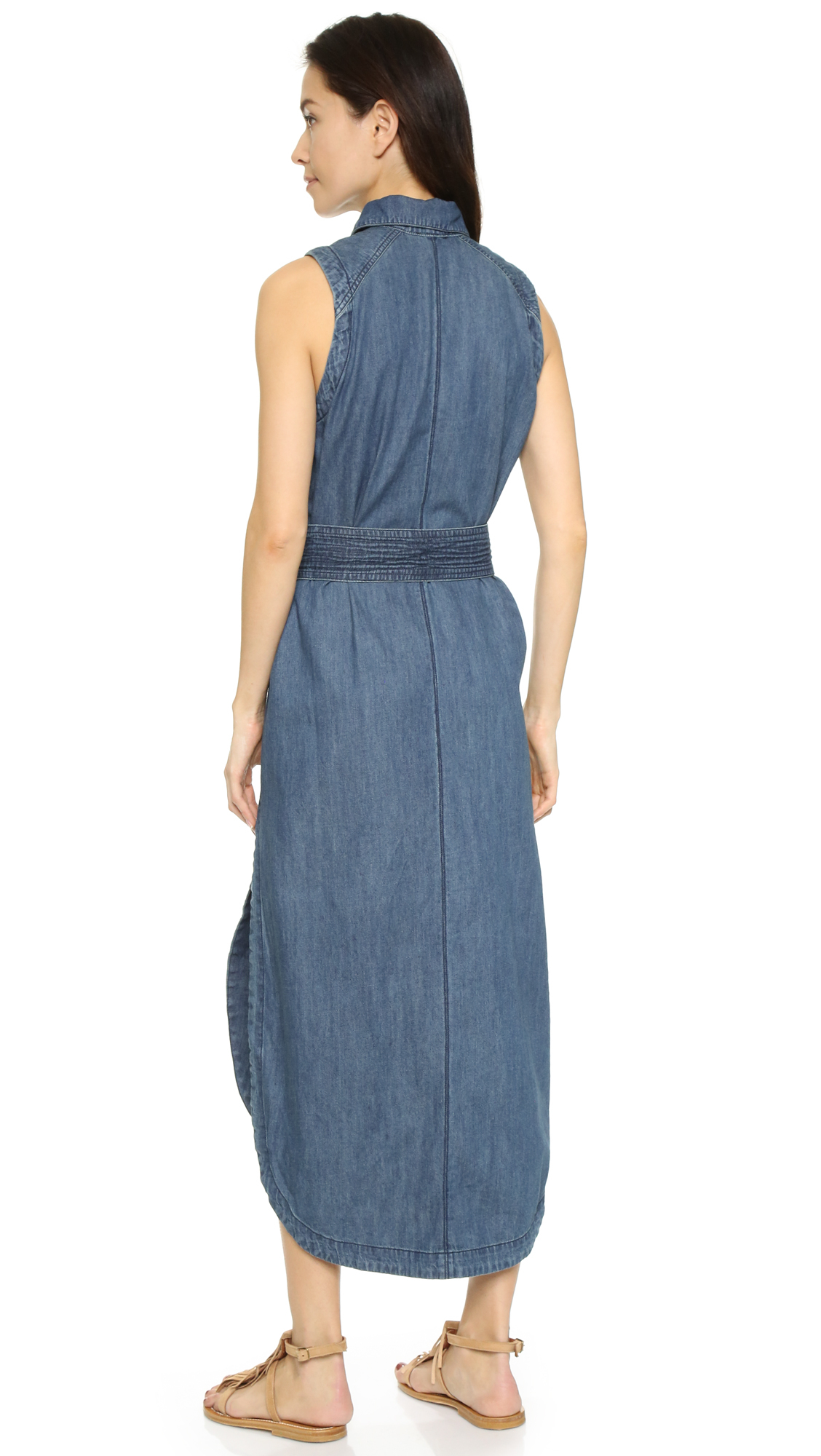Free people Cecilia Dress in Blue | Lyst