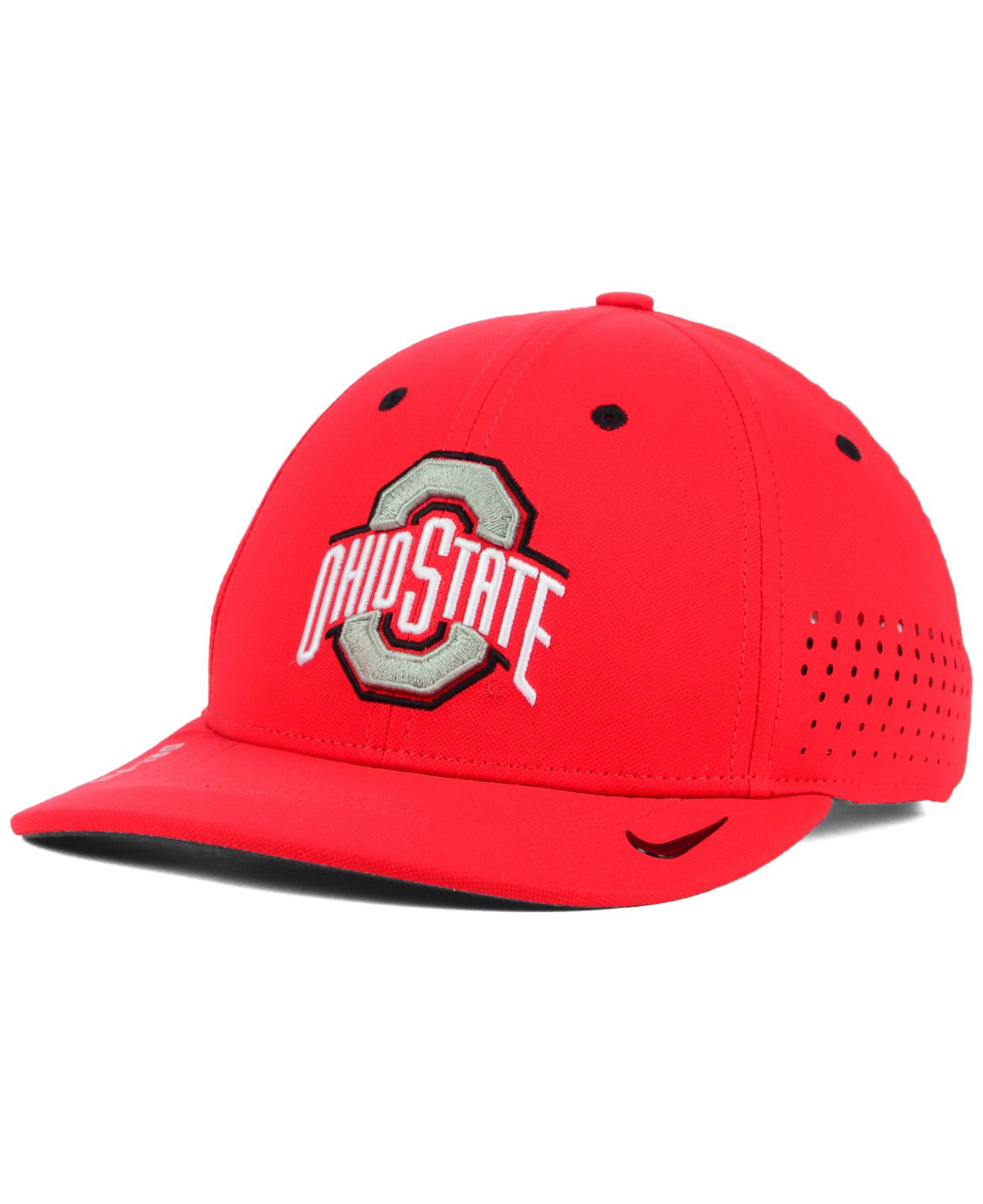 buy online 19522 cc32a ... italy lyst nike ohio state buckeyes sideline cap in red for men 3186e  6fda3