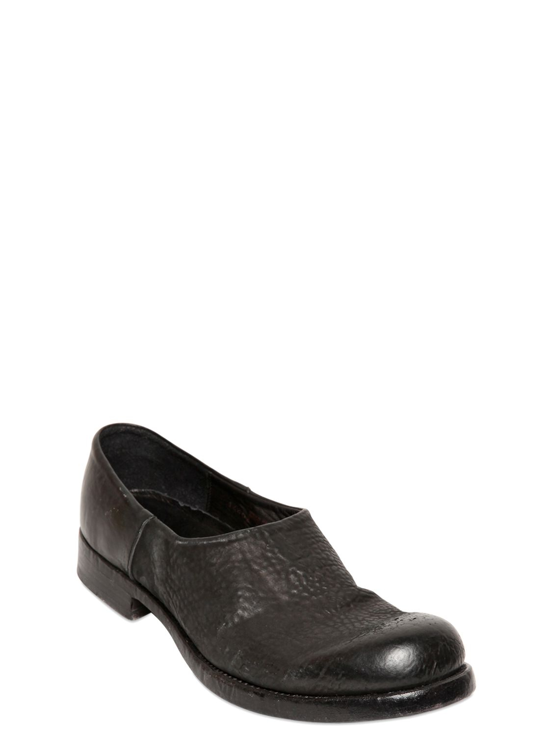 Lyst The Last Conspiracy 20mm Textured Leather Slip On