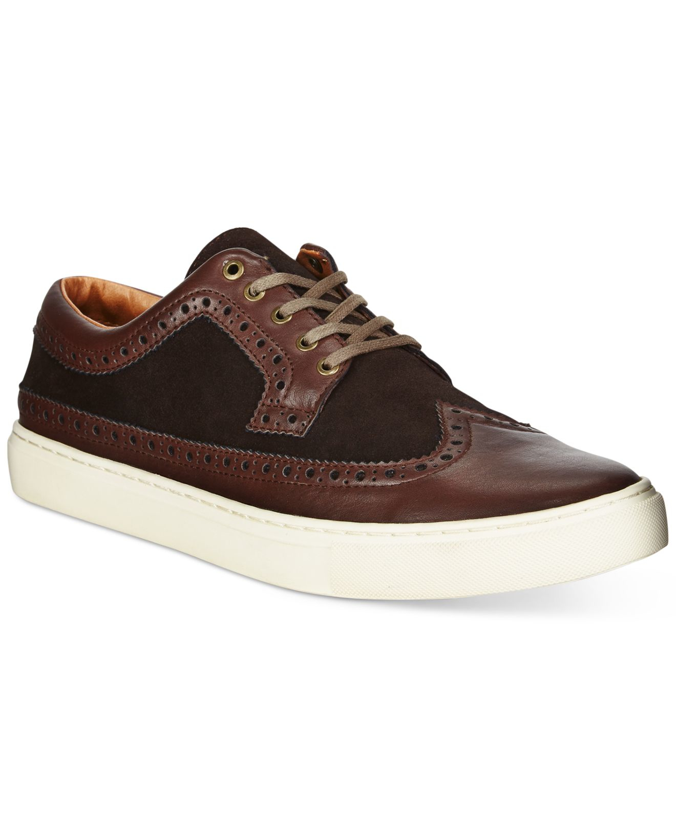tommy hilfiger macon sneakers in brown for men lyst. Black Bedroom Furniture Sets. Home Design Ideas