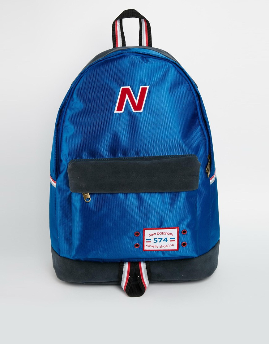 574 Men Blue Backpack In New Balance Lyst For gEpTqwqS
