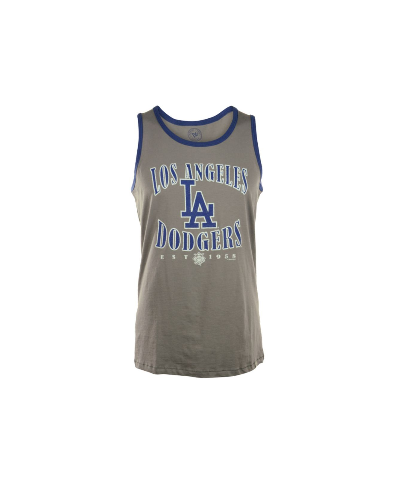 detailed look b4fb4 228e7 Lyst - 47 Brand Men S Sleeveless Los Angeles Dodgers Tank Top in ...