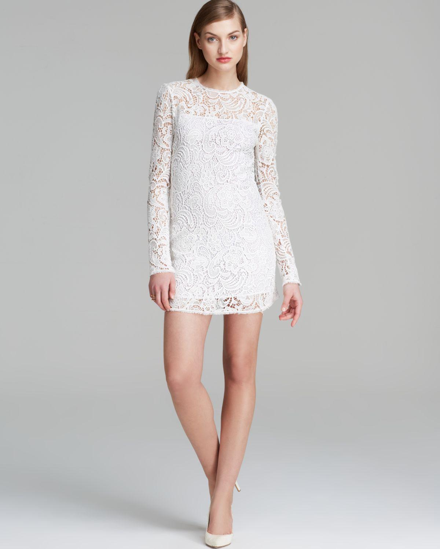 7cc0065a9408 Rachel Zoe Dress Nova Lace in White - Lyst