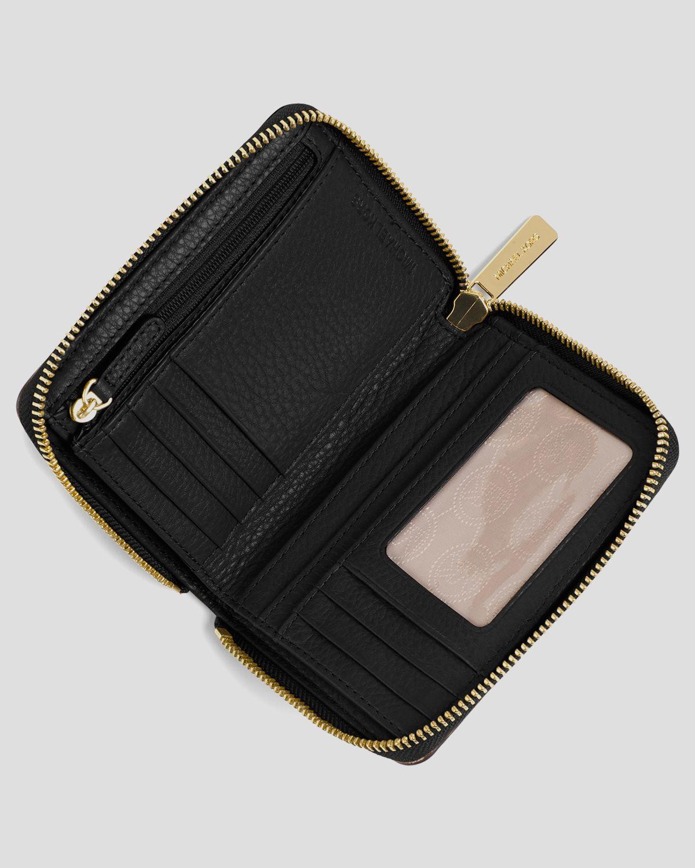 6beedbb55121 Lyst - MICHAEL Michael Kors Wallet - Zip Around Bi-fold in Orange