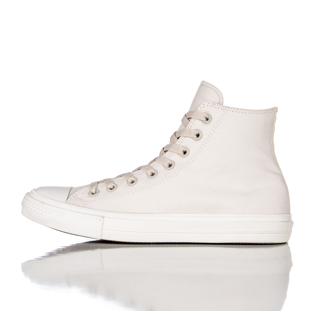 84c3de004bf Lyst - Converse Chuck Taylor All Star Ii In Parchment navy in White ...
