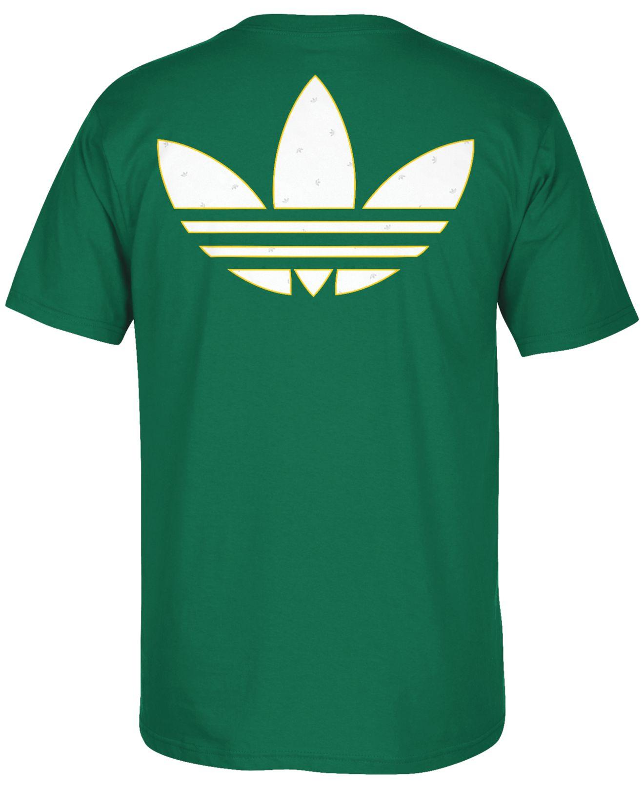 Lyst Adidas Men 39 S Boston Celtics Traditional Fade T