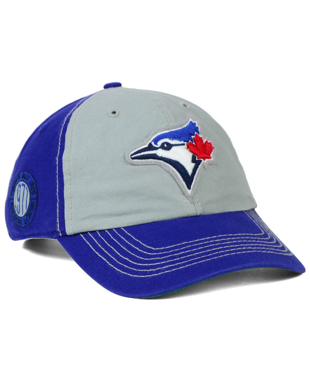 outlet store 675f4 0b5df coupon for lyst 47 brand toronto blue jays adjustable clean up cap in blue  for men
