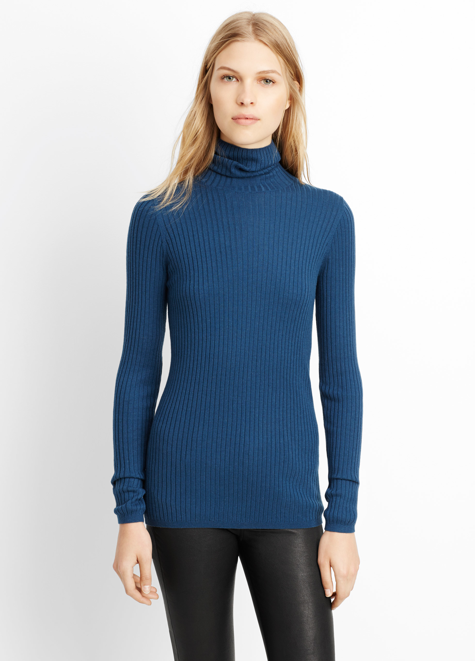 Merino Wool Turtleneck Sweater $ $ Free Standard Shipping on orders $ or more More colors available for Merino Wool Turtleneck Sweater More colors available + Cable-Knit Cashmere Swing Sweater $ Free Standard Shipping on orders $ or more.