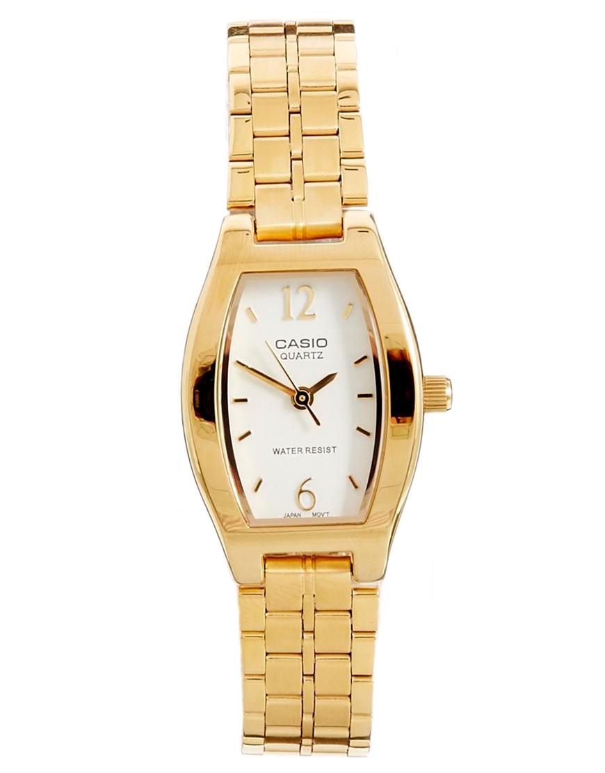 Lyst G Shock Gold Bracelet Watch In Metallic