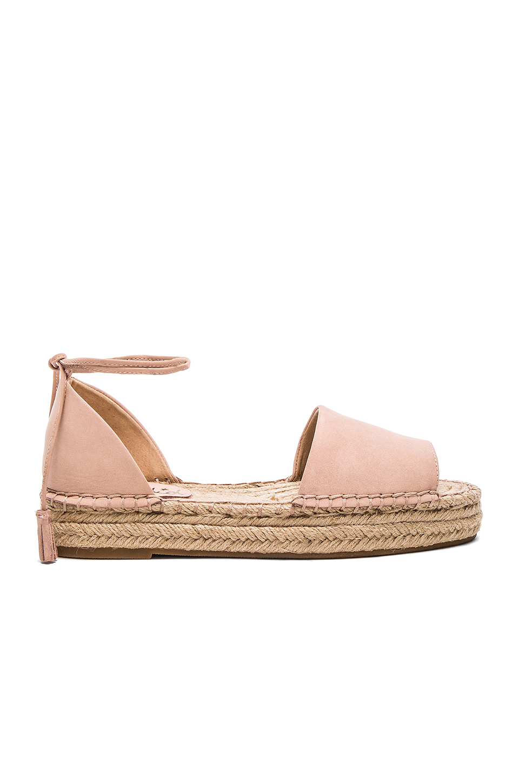 Lyst Splendid Edna Suede Espadrille Sandals In Pink