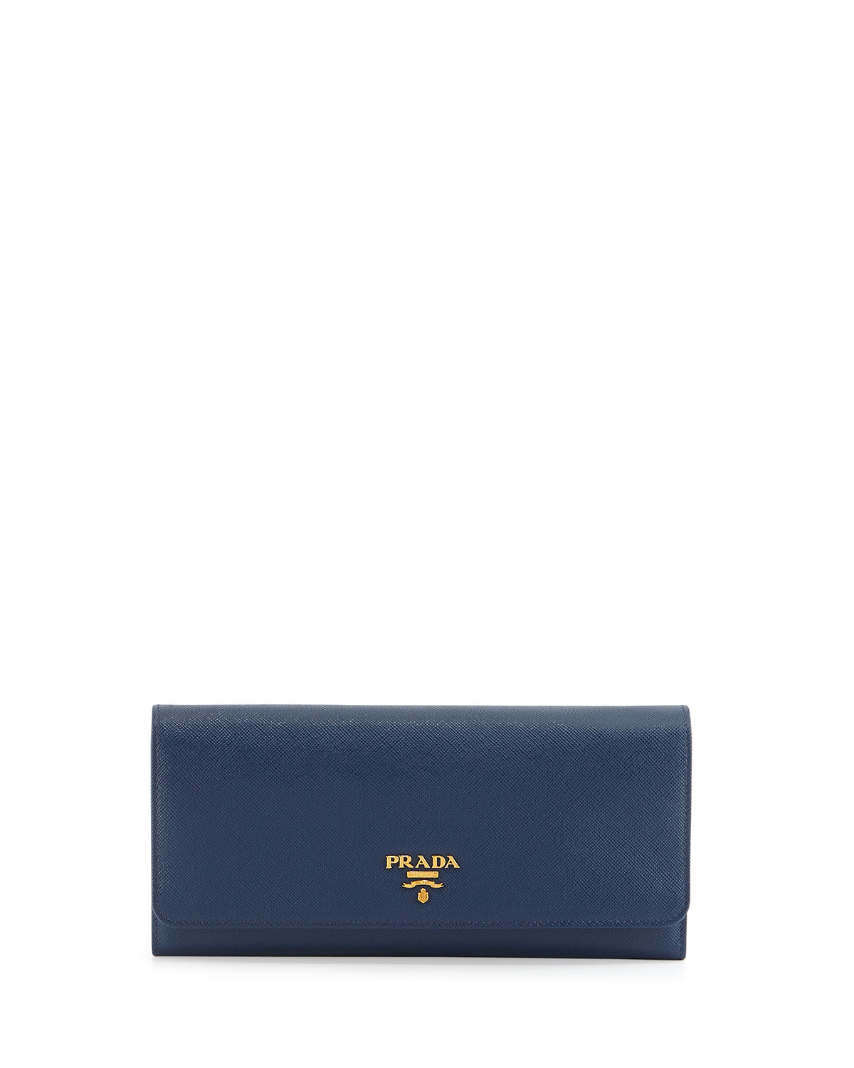 Prada Saffiano Leather Wallet-on-chain in Blue (NAVY) | Lyst