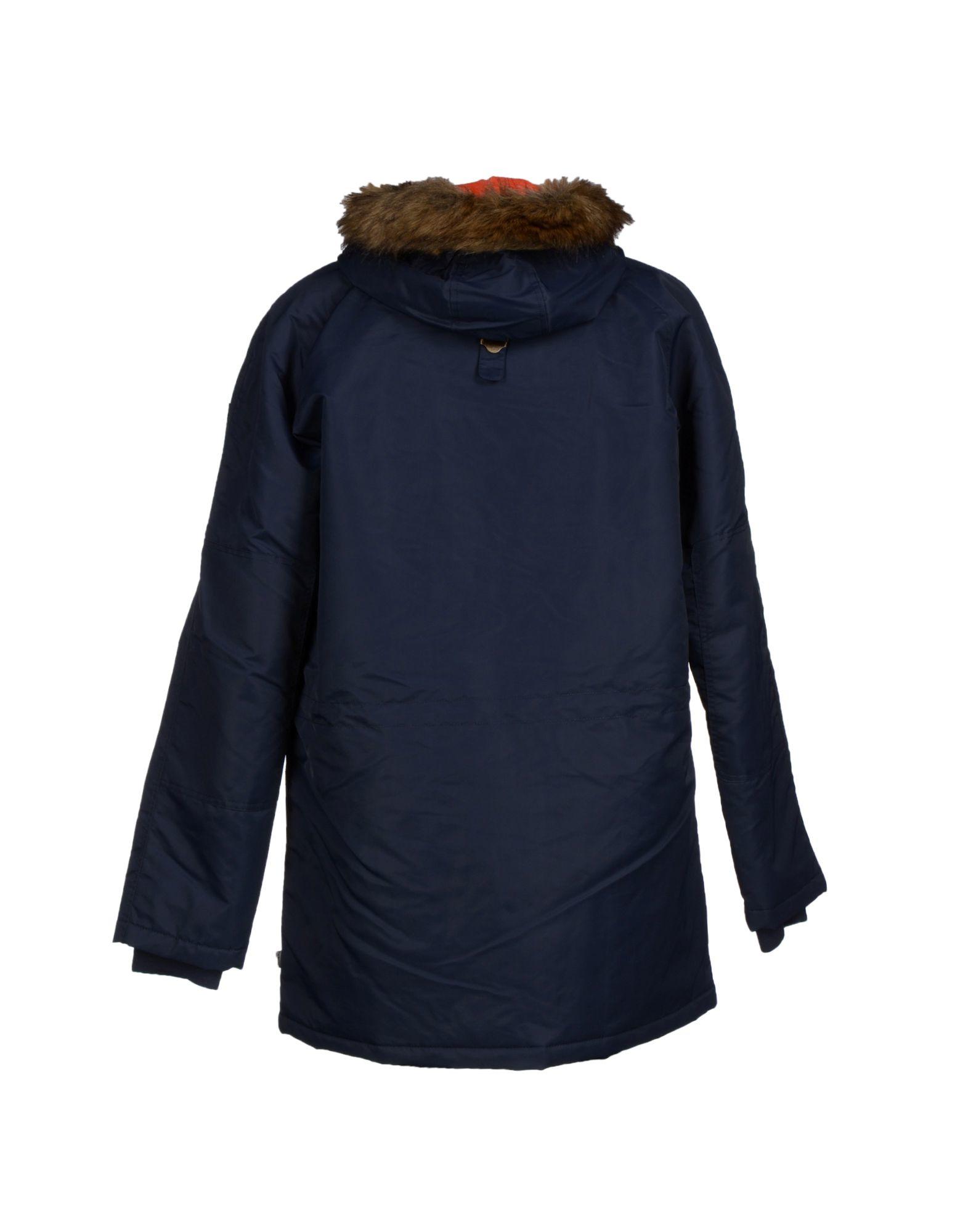 Lyst - Vans Jacket In Blue For Men
